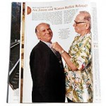 Famous DNA Review, Part III – Warren and Jimmy Buffett