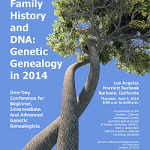 DNA Day 2014 at the 45th Southern California Genealogy Jamboree!